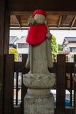 Каменная статуя Jizo в городке Kawagoe Стоковая Фотография RF