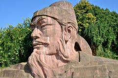 Каменная статуя Wu Daozi Стоковые Изображения RF