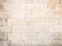 Каменная стена блока Стоковая Фотография RF