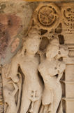 Каменная стена ваяет детали gfw w Стоковое Фото