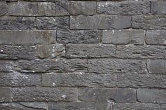 Каменная стена в районе озера Стоковые Фото