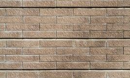 Каменная стена гранита здания для предпосылки и текстуры Стоковое Изображение