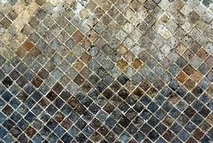 Каменная стена от руин Pompeian Стоковые Фотографии RF