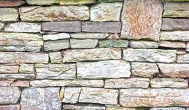 Каменная стена плитки кирпича постарела детализированная текстурой предпосылка картины Стоковые Фото