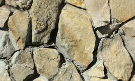 Каменная стена плитки кирпича постарела детализированная текстурой предпосылка картины Стоковые Изображения RF
