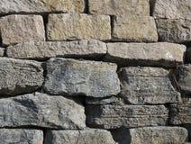 Каменная стена серая и золотая Стоковые Фото