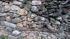 Каменная стена старая Стоковая Фотография RF