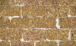 Каменная стена сделанная из пемзы Стоковое Фото