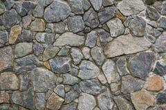 Каменная стена, текстура утеса кирпича, каменная текстура Стоковые Фотографии RF