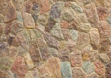 Каменная стена. Стоковая Фотография