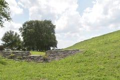 Каменная структура в установке парка Стоковая Фотография