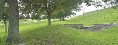 Каменная структура в установке парка Стоковые Изображения RF
