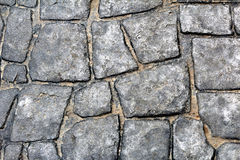 Каменная текстура пола или стены прогулки Стоковые Фото