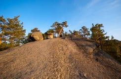 Каменная тропа Стоковые Изображения RF