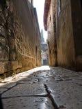 каменная улица Стоковое Фото