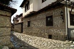 Каменная улица Стоковые Фотографии RF