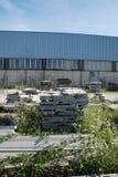 Каменная фабрика сляба Стоковые Изображения RF