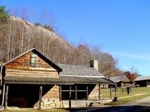 Каменная ферма парка штата горы Стоковые Изображения RF