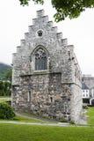 Каменная церковь Норвегия Стоковые Изображения RF