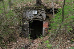 Каменная шахта стоковое изображение