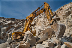 Каменная яма - карьер Стоковое фото RF