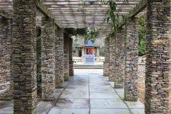 Каменный Columned SC университета Clemson беседки Стоковые Изображения RF
