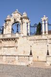 Каменное ворот к замку Buda в Будапеште Стоковые Фотографии RF