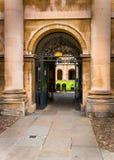 Каменное зодчество исторического cambridge Великобритании Стоковое фото RF