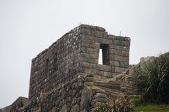 Каменное здание на Machu Picchu стоковое фото rf