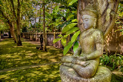 Каменное изображение Будды Стоковые Изображения RF