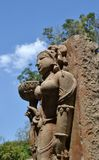 Каменное искусство западного Madhya Pradesh Стоковые Изображения RF