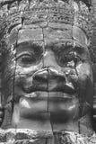 Каменное искусство, Angkor Wat, Камбоджа Стоковые Фото