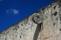 Каменное кольцо/Chichen Itza, Мексика Стоковое Изображение RF
