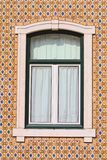каменное окно стоковое изображение