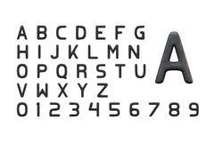 Каменное письмо иллюстрация вектора