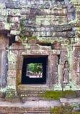 Каменное резное изображение в Камбодже стоковое изображение rf
