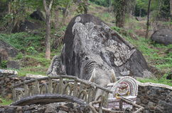 Каменное резное изображение Стоковые Фото