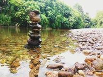 Каменное река Стоковые Изображения RF