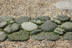 Каменное украшение пути Стоковая Фотография