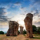 Каменное henge в Таиланде Азии Стоковая Фотография