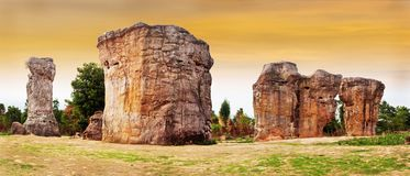 Каменное henge в Таиланде Азии Стоковое фото RF