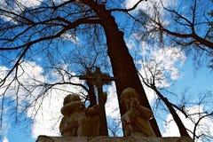 Каменные ангелы Стоковая Фотография