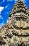 Каменные башни Angkor Wat Стоковое Изображение RF