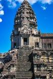 Каменные башни Angkor Wat Стоковое Изображение