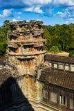 Каменные башни Angkor Wat Стоковая Фотография