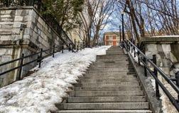 Каменные лестницы Стоковое Изображение