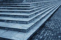 Каменные лестницы Стоковая Фотография RF