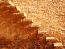 Каменные лестницы Стоковое Фото
