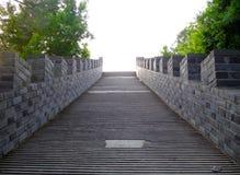 Каменные лестницы Стоковые Изображения RF