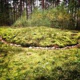 Каменные круги Стоковая Фотография RF